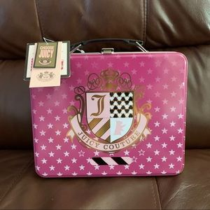Juicy Couture Metal Lunch Box & Thermos NWT!